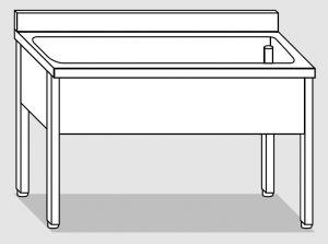 LT1084 dishwasher on stainless steel legs