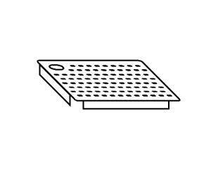 AC2022 Falsofondo Forato per Vasche SX 50x50