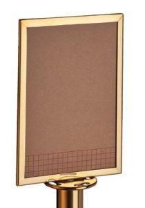 T103383 Pannello dorato per colonne sistema divisorio