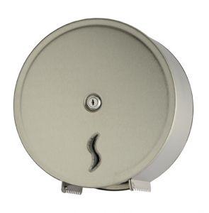 T105003 Distributore di carta igienica acciaio Inox AISI 304 satinato 200 metri