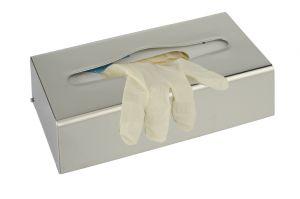 T105054 Distributore fazzoletti o guanti inox brillante