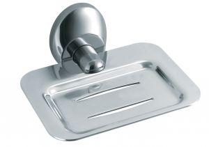 T105217 Portasapone acciaio inox AISI 304 satinato