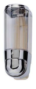 T110551 Mini liquid soap dispenser 0,3 lt Chromed ABS