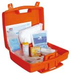 T702018 Small plastic box + First aid supplies for up to 2 people