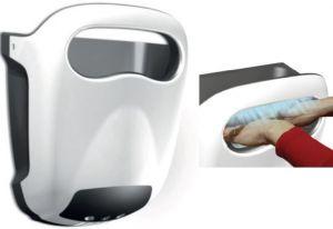 T704410 Asciugamani a fotocellula ad alte prestazioni ABS bianco antivandalo LUX