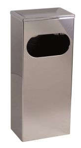 T773011 Stainless steel Waste bin with front opening 25 L
