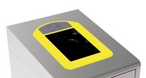 T789036 Cornice gialla per Gettacarte per la raccolta differenziata T789020