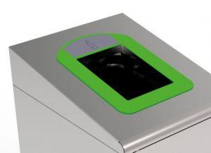 T789038 Cornice verde per Gettacarte per la raccolta differenziata T789020