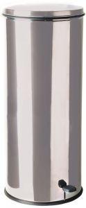 T790626 Contenitore in acciaio inox con pedale 50 litri