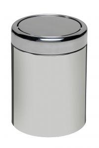 T906607 Gettacarte acciaio inox AISI 304 basculante 7 litri