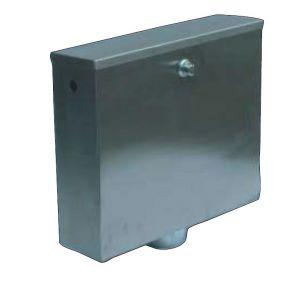 LX3200 Pulsador o caja de descarga neumática 400x112x373 mm SATIN